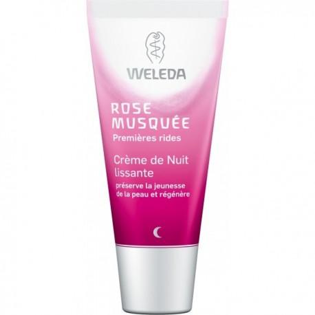 Weleda Rose Musquée Premières rides crème de nuit 30 ml