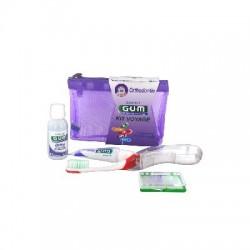 Gum Kit Voyage Orthodontie Trousse De 4 Produits