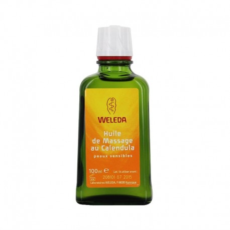 Weleda Huile de Massage au Calendula peaux sensibles 100 ml