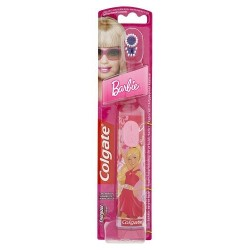 Colgate Brosse à Dents à Piles Barbie