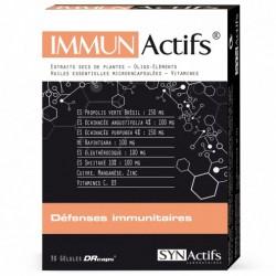 Synactifs Immunactifs Defenses Immunitaires 30 Gelules
