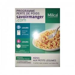 Milical Lcd Pâtes Petits Légumes 4 Sachets