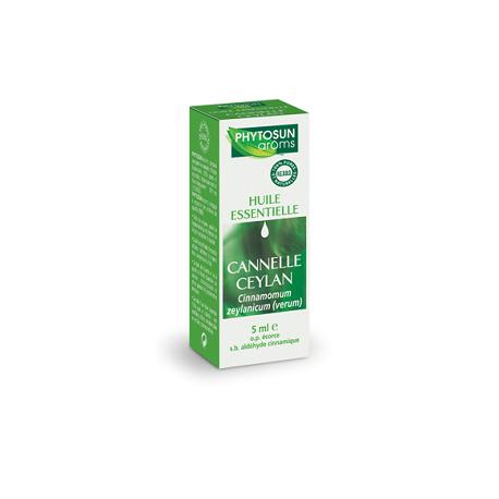 Phytosun arôms huile essentielle cannelle ceylan 5ml