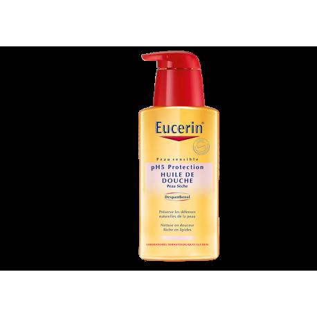 Eucerin pH5 Protection Huile De Douche peau sèche 1 litre