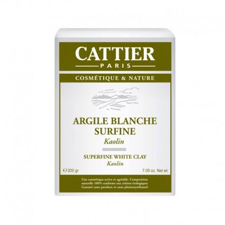 Cattier Argile blanche surfine 200 g