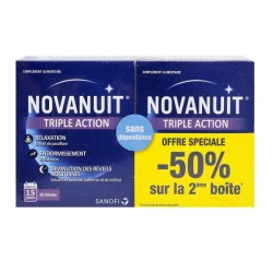 Sanofi Novanuit Triple Action - Lot 2 X 30 Gélules