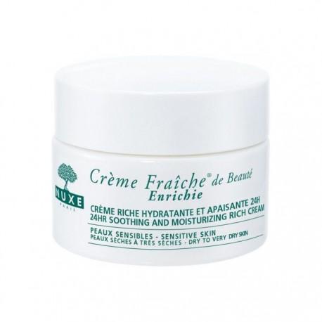 Nuxe crème fraiche peaux sensible et peaux sèches 50ml