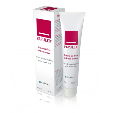 Alliance crème oil-free peaux à imperfections Papulex en tube de 40 ml