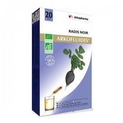 Arkopharma Arkofluide Radis Noir Bio 20 Ampoules
