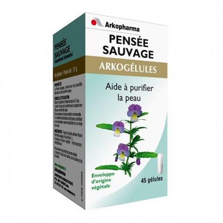 Arkopharma arkogélules pensée sauvage 45 gélules