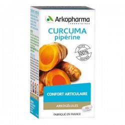 Arkopharma Arkogélules Curcuma Pipérine Complément Alimentaire 45 Gélules