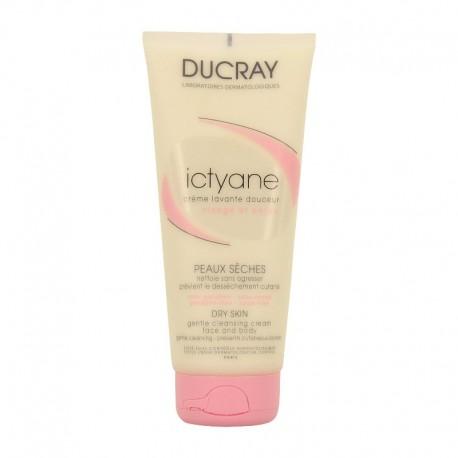 Ducray ictyane crème lavante douceur 200ml