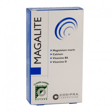 Codifra Magalite gestion du stress 40 capsules