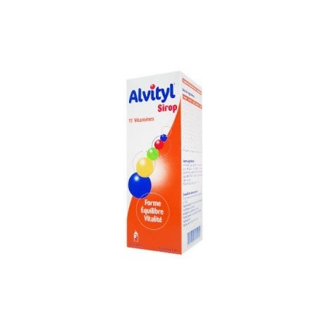 Urgo alvityl sirop 11 vitamines 150ml