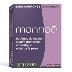 Nutrisanté Manhaé Complément Alimentaire Ménopause 30 Gélules