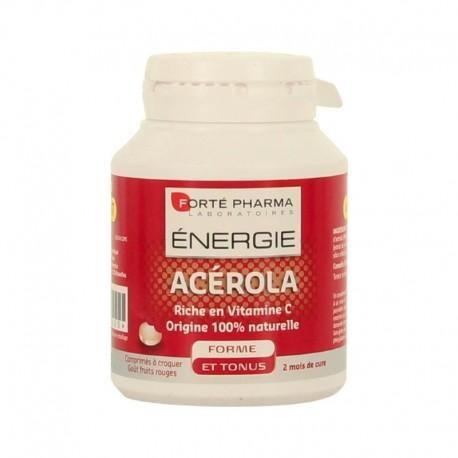 Forté Pharma Énergie Acérola complément alimentaire en boîte de 60 comprimés