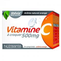 Nutrisanté Vitamine C à Croquer 500mg