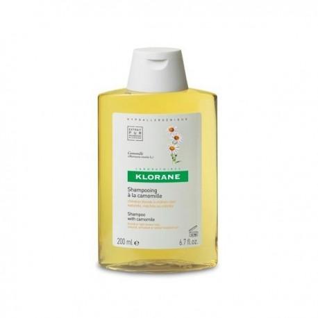 Klorane shampooing à la camomille pour les cheveux blonds 400 ml
