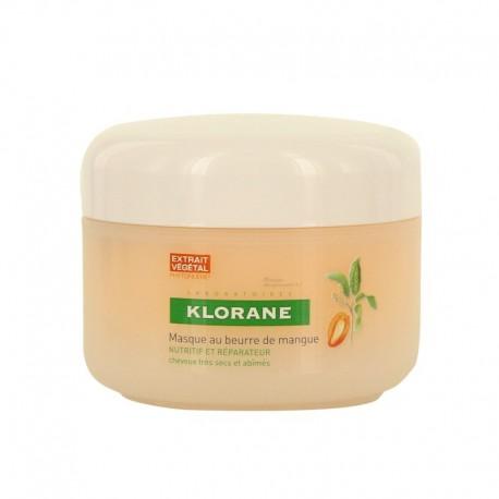 Klorane masque nutritif au beurre de mangue 150ml