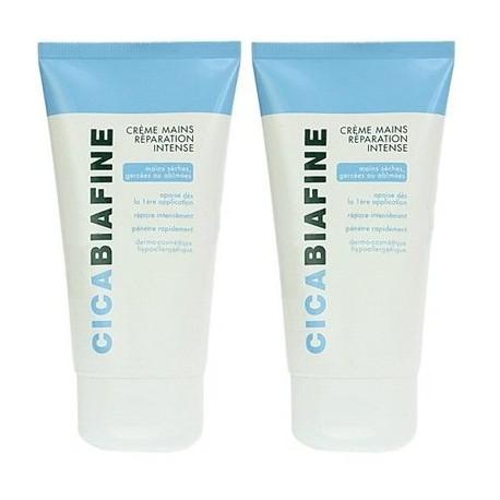 Biafine Cicabiafine Crème Mains Réparation Intense - Lot 2 x 75 ml