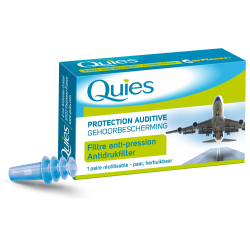 Quies Protections Auditives Spécial Avion 1 Paire