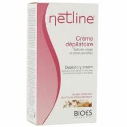 Netline Crème Dépilatoire Crème Spécial Visage Et Zones Sensibles 75ml
