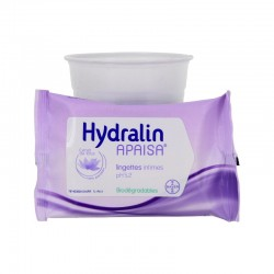 Hydralin Apaisa 10 Lingettes Intimes