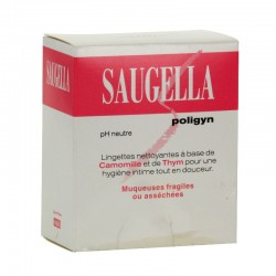 Saugella Poligyn 10 Lingettes Intimes