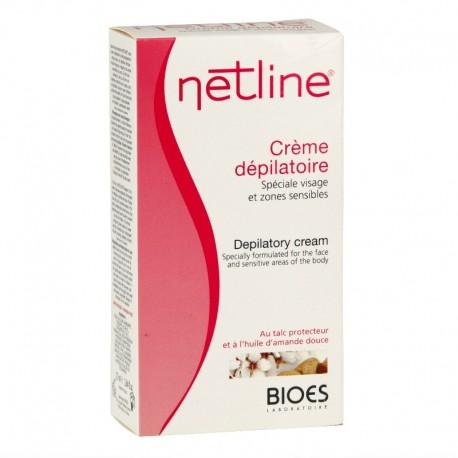 Netline crème dépilatoire spéciale visage et zones sensibles 75ml