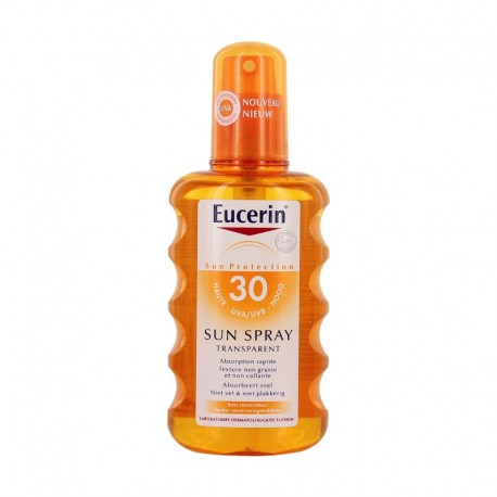 Eucerin sun spray transparent spf 30 200ml