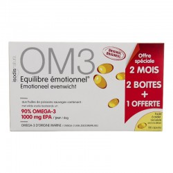 Om3 Equilibre émotionnel - Lot 3 X 60 Capsules