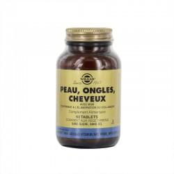 Solgar Peau Ongles Cheveux 60 Gélules Végétales