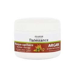 Natessance Masque Capillaire Nutrition-anti-âge Argan & Kératine Végétale 200 Ml
