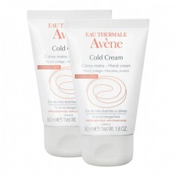 Avène Eau Thermale Cold Cream Crème Mains - Lot 2 X 50 Ml