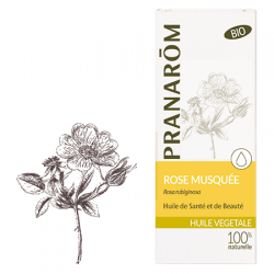 Pranarôm Huile Végétale Rose Musquée 50 Ml