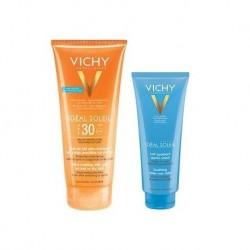 Vichy Ideal Soleil Offre Gel De Lait Spf30 200ml + Apres Soleil 100ml