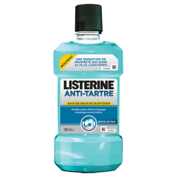 Listerine Anti-tartre Bain De Bouche Quotidien 500 Ml