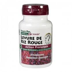 Nature's Plus Levure De Riz Rouge 600mg 30 Comprimés
