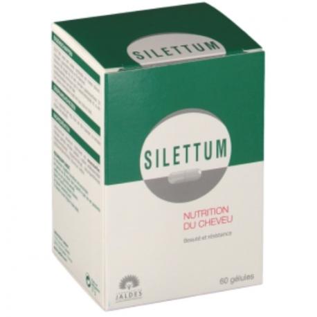 Jaldes Silettum croissance cheveux 60 gélules
