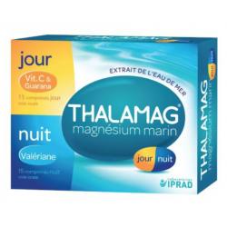 Iprad Thalamag Magnésium Marin Jour Nuit 30 Comprimés