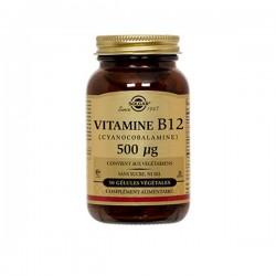 Solgar Vitamine B12 Cyanocobalamine 500ug 50gélules Végétales
