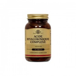 Solgar Acide Hyaluronique 120mg 30 Tablettes