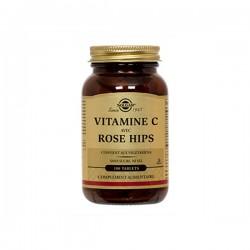 Solgar Vitamine C 500mg Rose Hips 100 Tablettes