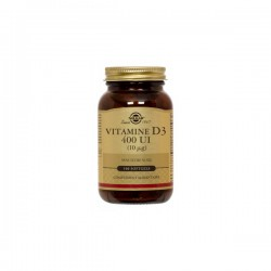 Solgar Vitamines D3 400ui 100 Comprimés