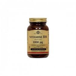 Solgar Vitamines B8 Biotine 1000ug 50 Gélules Végétales