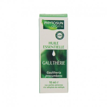 Phytosun arôms huile essentielle de gaulthérie 10 ml