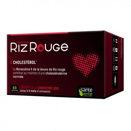 Santé Verte Levure de Riz Rouge - Lot 2 x 30 comprimés