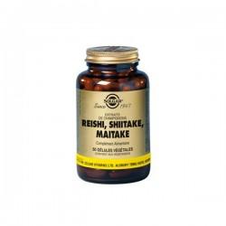 Solgar Reishi Shiitake Maitake 50 Gélules