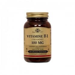 Solgar Vitamine B1 Thiamine 100mg 100 Gélules