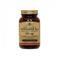 Solgar Vitamine K2 Mk7 50 Gélules